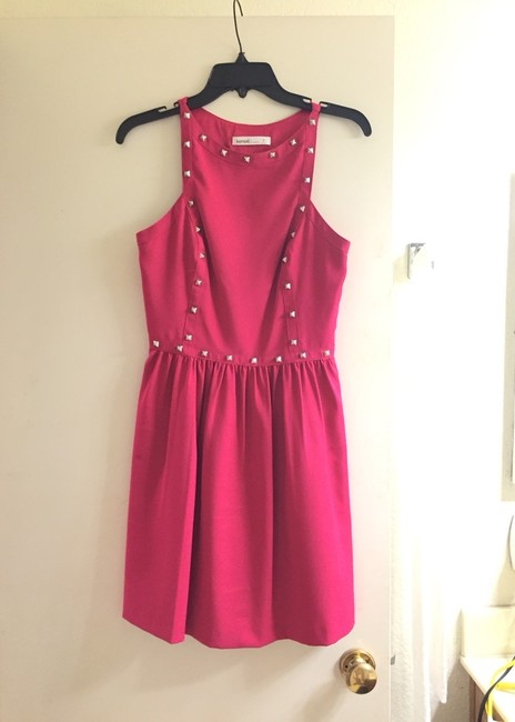 Kensie short dress Magenta/Berry/Pink on Tradesy