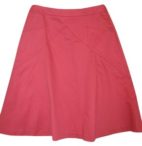 Express A-line Bright Skirt Pink
