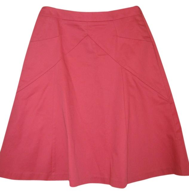 Preload https://item2.tradesy.com/images/express-pink-a-line-bright-knee-length-skirt-size-0-xs-25-3326116-0-0.jpg?width=400&height=650