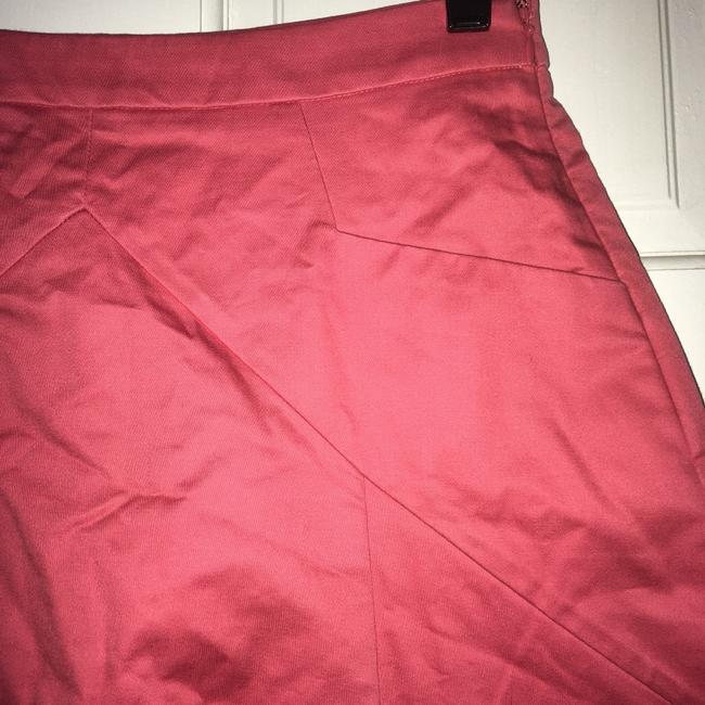 Express A-line Bright Skirt Pink Image 1