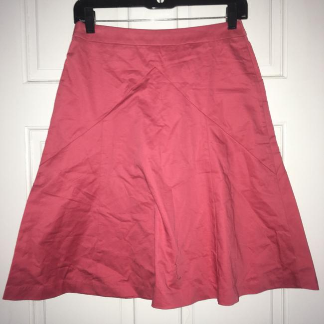 Express A-line Bright Skirt Pink Image 2