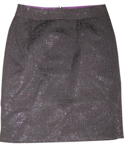 Banana Republic Shimmery Pencil Skirt black