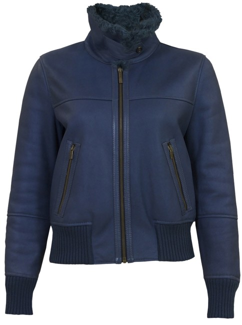 Preload https://img-static.tradesy.com/item/3326329/fratelli-rossetti-blue-lambskin-shearling-motorcycle-jacket-size-6-s-0-0-650-650.jpg
