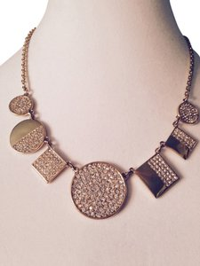 Kate Spade Light The Lanterns Pave' Crystal Geometric Statement Necklace