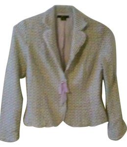 E by ECI E by ECI multicolored white beige black green lavender Blazer