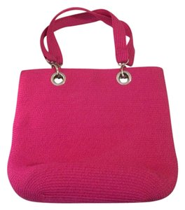 Sun n sand Pink Pink Woven Beach Tote