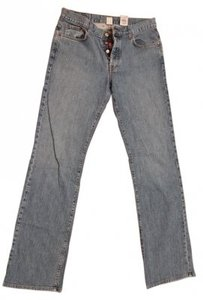 Lucky Brand Boot Cut Jeans-Distressed