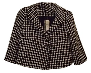 Ann Taylor LOFT Black and White Blazer