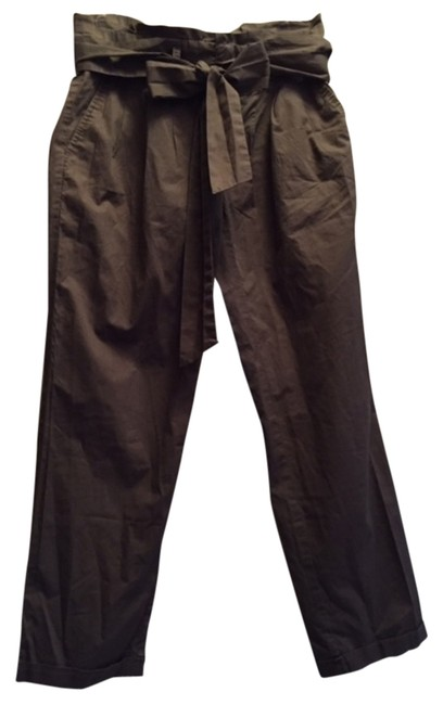 Cartonnier Capri/Cropped Pants Olive Green
