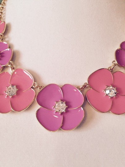 Kate Spade Kate Spade Enamel/Crystal Bouquet Necklace Only! Matching Pieces sold Seperately. Image 1