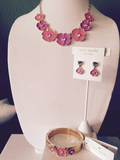 Kate Spade Kate Spade Enamel/Crystal Bouquet Necklace Only! Matching Pieces sold Seperately.