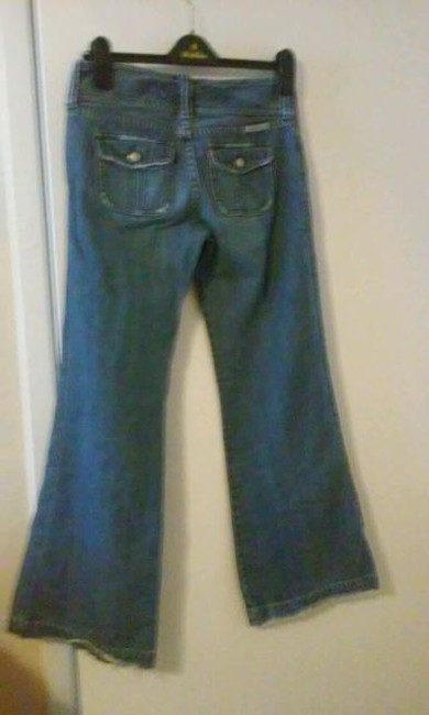 Abercrombie & Fitch Flare Leg Jeans-Medium Wash