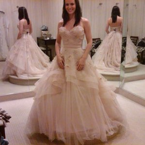 Wtoo Ivory Tulle Olivia Vintage Wedding Dress Size 6 (S)