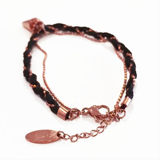 Other Cone Spike Charm Bracelet Rose Gold