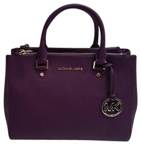 Michael Kors Satchel in Purple