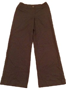 Chico's Trouser Pants Drk Brown