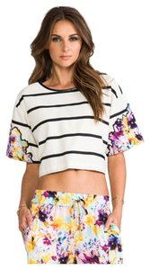 Sachin + Babi Floral shorts and cropped top