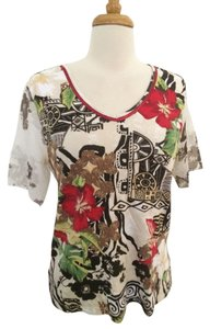Caribbean Joe T Shirt Multi