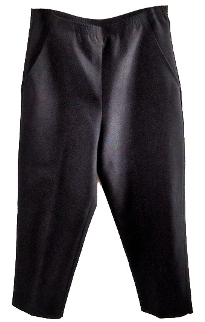 Silhouettes Elastic Wrinkle-free Relaxed Pants black