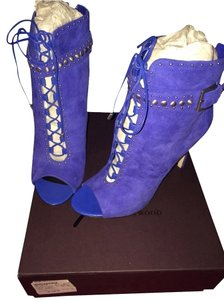 B Brian Atwood Blue Boots