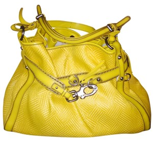 Francesco Biasia Satchel in Yellow
