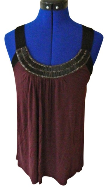 Preload https://item1.tradesy.com/images/forever-21-black-and-purple-beaded-tank-night-out-top-size-8-m-332755-0-0.jpg?width=400&height=650