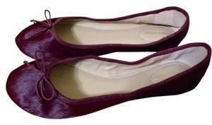Lord & Taylor Burgundy Flats