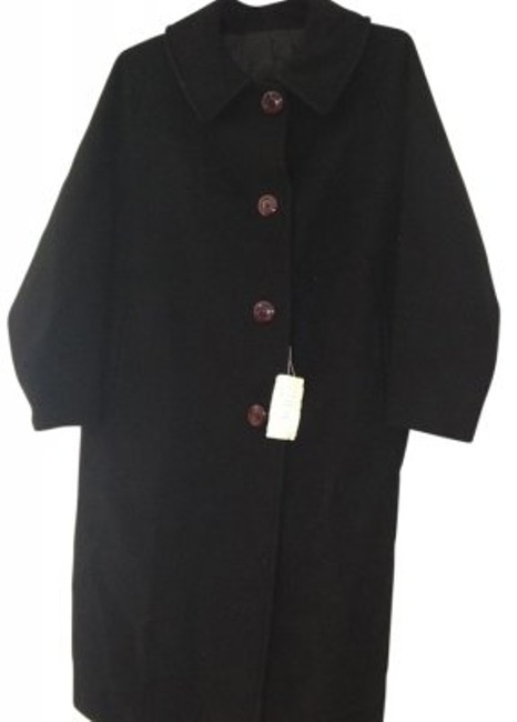 Preload https://img-static.tradesy.com/item/33276/black-styl-1823-pea-coat-size-18-xl-plus-0x-0-0-650-650.jpg