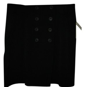 Essentials by ABS Mini Skirt Black