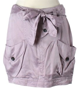 Robert Rodriguez Skirt Purple / Grey / Silver