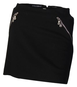 Dolce&Gabbana Mini Skirt black