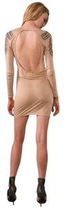 Torn by Ronny Kobo Bodycon Studded Mini Dress