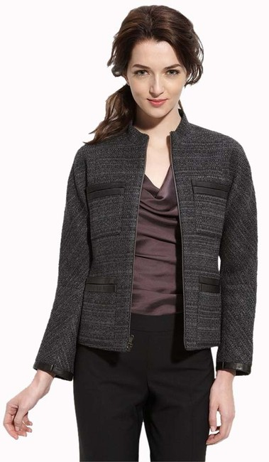 Preload https://item3.tradesy.com/images/theory-grey-dorian-dialogue-leather-trim-size-0-xs-3329092-0-0.jpg?width=400&height=650