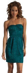 Rebecca Taylor Silk Strapless Dress