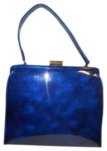 Theodor California Vintage Satchel in blue