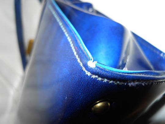 Theodor California Vintage Satchel in blue Image 10