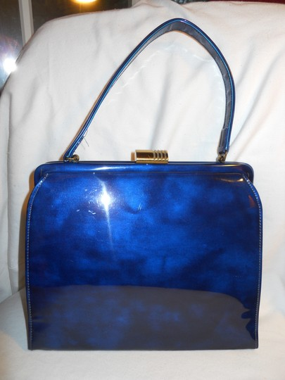 Theodor California Vintage Satchel in blue Image 2