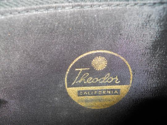 Theodor California Vintage Satchel in blue Image 3
