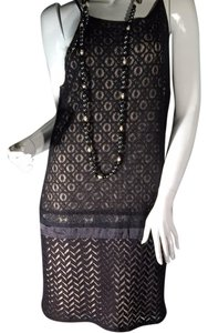 Black And Beige Maxi Dress by Jucerre w