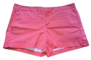 Hinge Mini/Short Shorts Coral/white