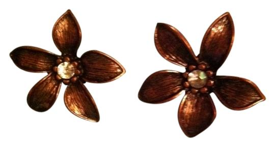 Antique Antique Bronze Stargazer Studs