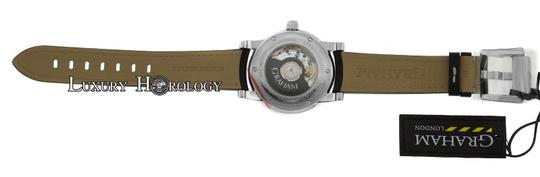 Graham & Spencer Graham Silverstone GMT Automatic 2TZAS.S01A Date Silver Dial Watch