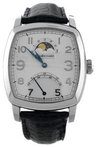 JeanRichard JeanRichard TV Screen 46016-11-10E-AA4D Retrograde Moonphase Watch