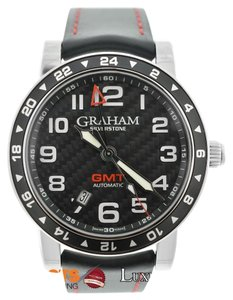 Graham & Spencer Graham Silverstone GMT Automatic 2TZAS.B02A Carbon Fiber Watch