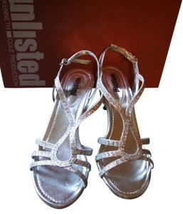 Unlisted by Kenneth Cole Sliver Sandals