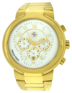 Philip Stein Philip Stein Active 32-AGW-GSS Chronograph XL 45mm Date 18K Quartz Watch