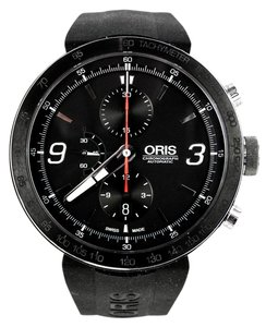 Oris Men's Chronograph Automatic Date Steel Watch