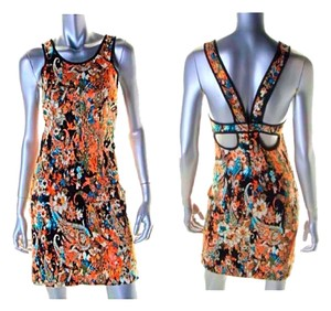 Charles Henry short dress Multicolored on Tradesy