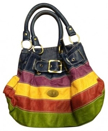 Preload https://img-static.tradesy.com/item/33313/dolce-and-gabbana-denim-red-cream-green-and-brown-stripes-leather-hobo-bag-0-0-540-540.jpg