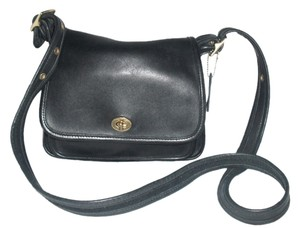 Coach Rambler #9061 Leather Shoulder Bag